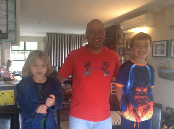 Oscar, Arran & Lenny